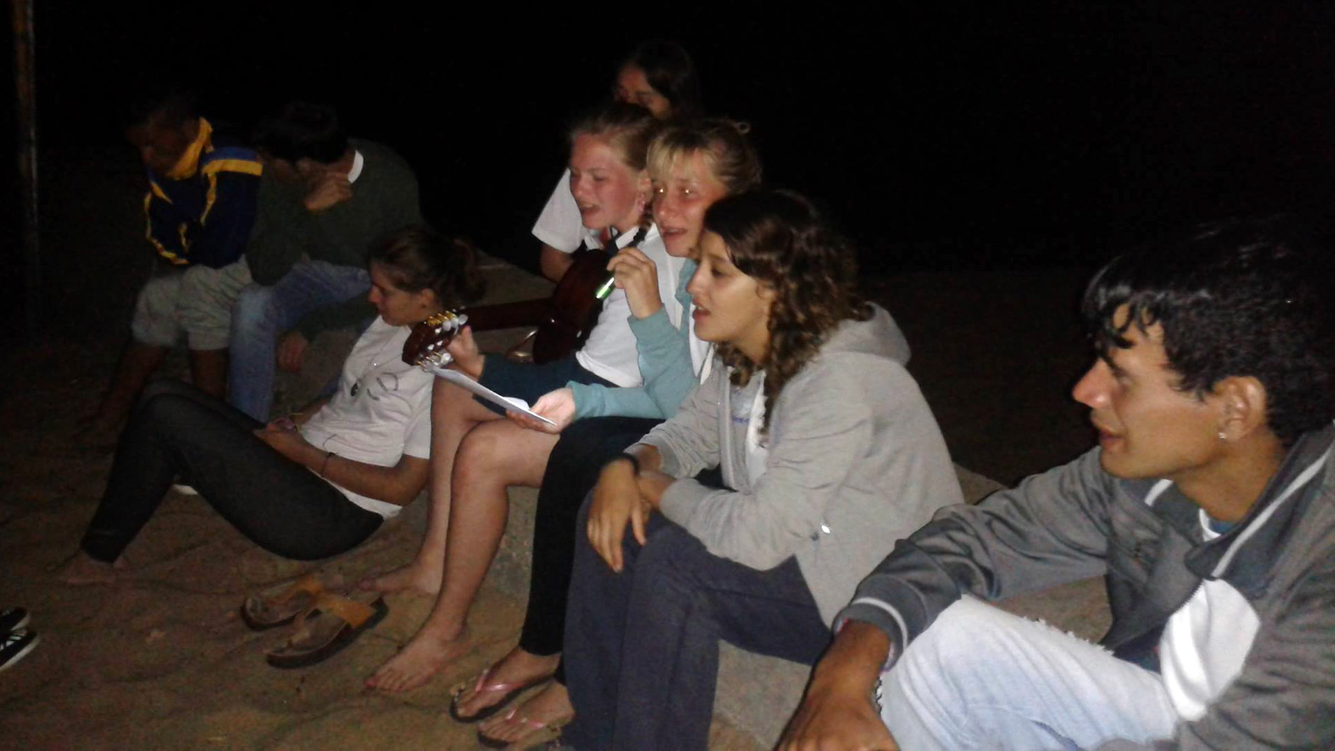 campamento jóvenes Metodistas de Mercedes