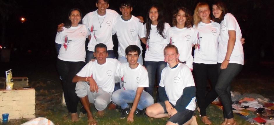 campamento jóvenes Metodista de Mercedes