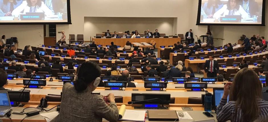 Negociaciones en ONU